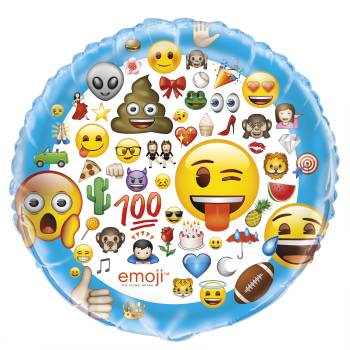 Riesiger Helium luftballon Emoji