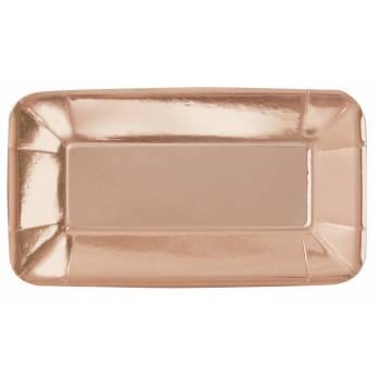 8 Gerichte Aperitif rosa gold