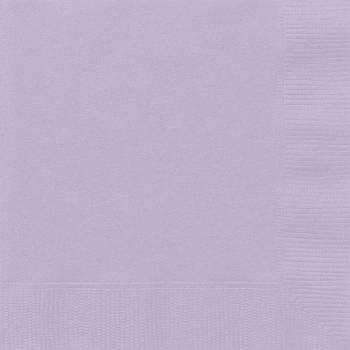 20 Servietten Lavendel