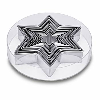 Kit 10 Sternen ausstechformen