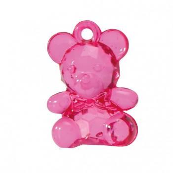 10 Rosa Bären Anhänger