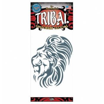 Löwen-Stammes-Tattoos
