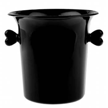 6 Mini-Eimer mit schwarzem Champagner