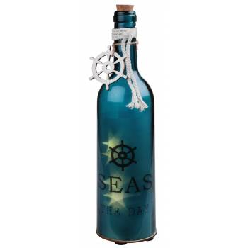 Leuchtende Meeres-Bordflasche