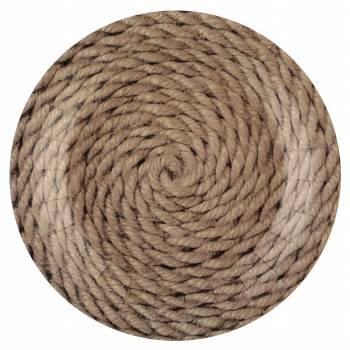 10 Teller am Meer Seil