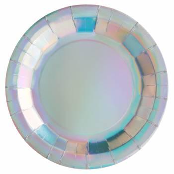 10 rainbow-Teller irisiert
