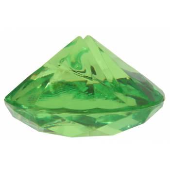 4 Grüne Tischkartenhalter Diamant
