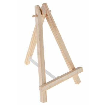 Holz-Tisch-Staffelei
