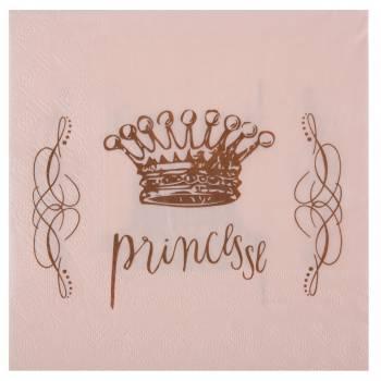 20 Tischservietten Prinzessin