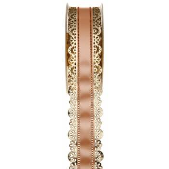 Charlotte-Band Spitze gold gold 40mm