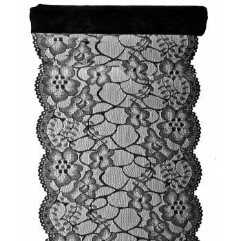Tisch-Pfad Premium-Spitze schwarz