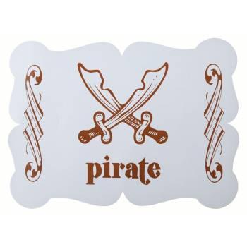 6 Tisch sets P'tit Pirate