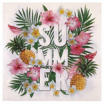 20 Tropical Paradise Servietten