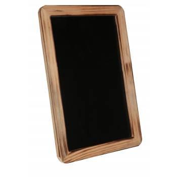 Marke Tisch großen Schiefer Rand Holz