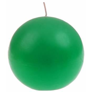 Grüne Runde Kerze