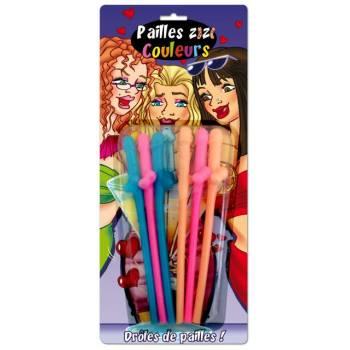 6 Pailles Zizi Farben
