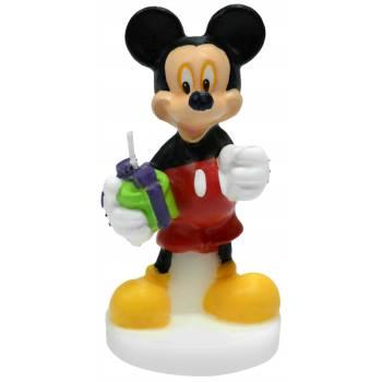 3D-Kerze micky Mouse für kuchen