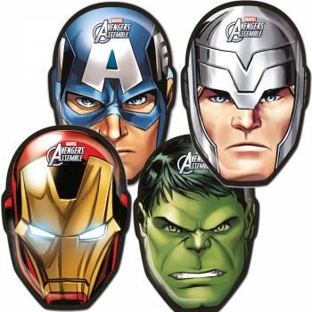 6 Avengers mighty Masken