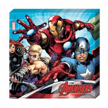 20 Servietten Avengers mighty