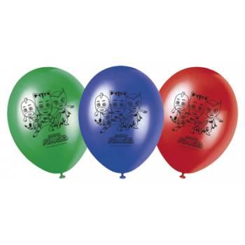 8 Geburtstags ballons Pyjamask