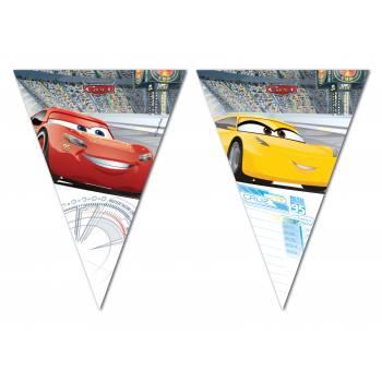 Girlanden-Flaggen Cars 3