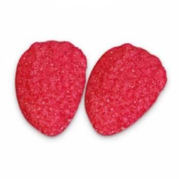 1 Kg Gummibärchen Erdbeere flach