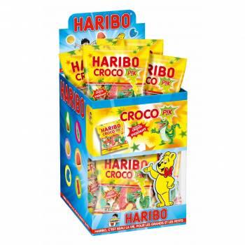 Mini Beutel Süßigkeiten Haribo Croco pik