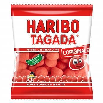 Süßigkeiten Erdbeere Tagada Haribo 120gr