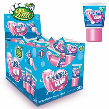 Kaugummi tube gum Tutti frutti