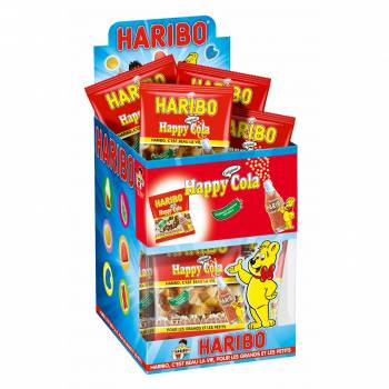 Mini Beutel Süßigkeiten Haribo Happy Cola