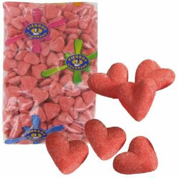 250 Süßigkeiten Herz Marshmallows 1.5kg