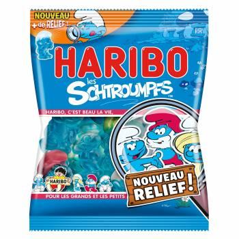 Süßigkeiten Schtroumphs Haribo 120gr