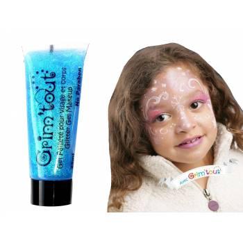Make-up Gel Glitzer Turquoise