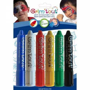 6 Sport Make-up Sticks