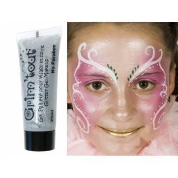 Make-up Gel glitzerte Silber