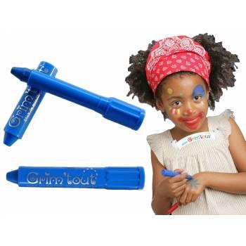 Blauer Make-up-Stick