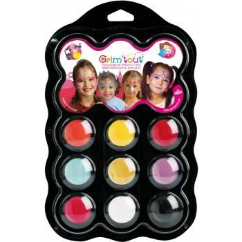 Prinzessin Make-up Palette 9 Farben
