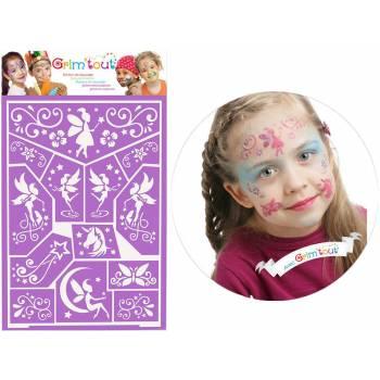 Fairy Make-up-Schablone