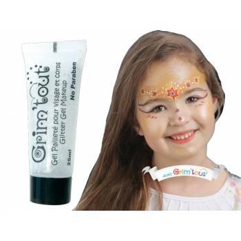 Make-up Glitzer Gel Kristall