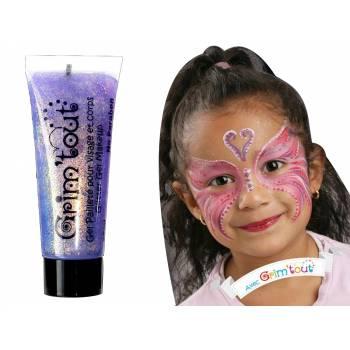 Make-up Gel glitzerte Mauve