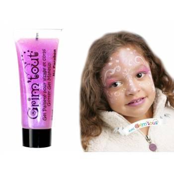 Make-up Gel glitzerte Rose