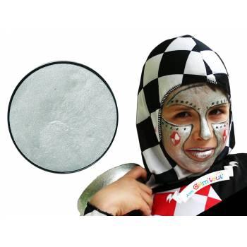20 ml Make-up-Kiesel Metall Silber