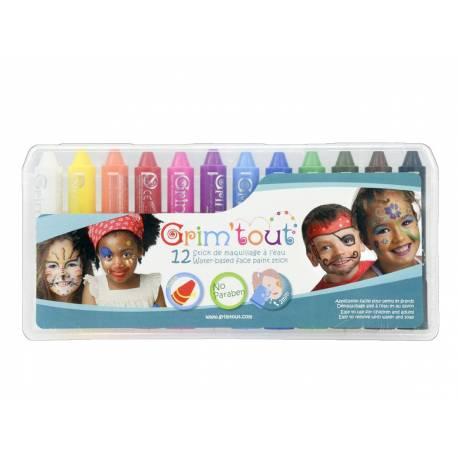 Die Grim 'sticks sind perfekt zum Spaß geeignet, von Kindern leicht zu bedienen. Sie können sich mit ihrem Twist-System ganz einfach...