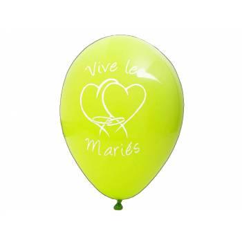 8 Luftballons Bräute Grün
