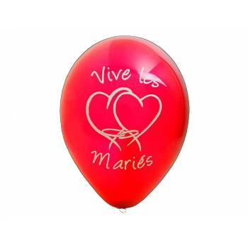 8 Ballons Die Roten Bräute