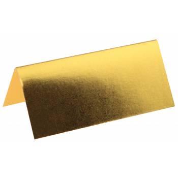 10 Marke metallic gold