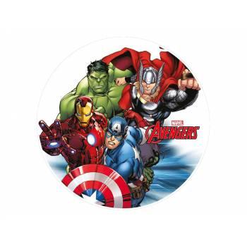 Tortenaufleger dekor Avengers team