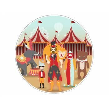 Tortenaufleger dekor Vintage Circus