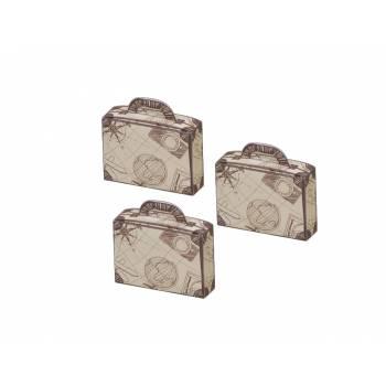 10 Faltschachteln Koffer