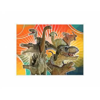 Dekor auf Zucker Dekor Dinosaurier A4
